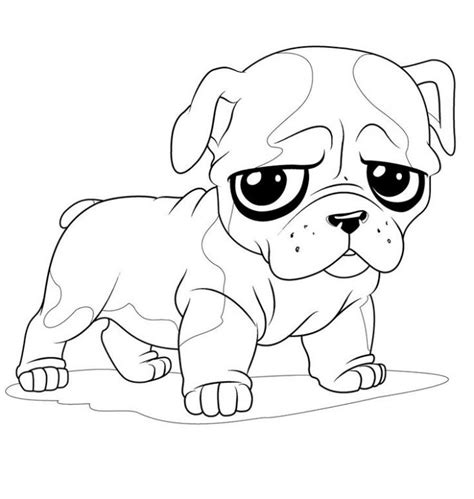 french bulldog puppy coloring page  kids animal coloring pages pinterest coloring