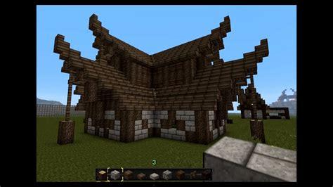 minecraft gundahar tutorials medieval nordic house youtube