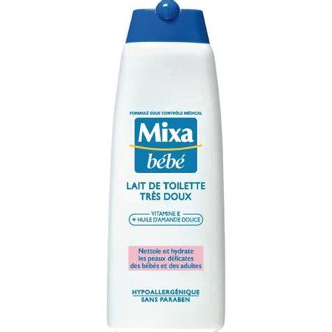 mixa bebe lait de toilette tr 232 s doux 250ml achat vente b 233 b 233 mixa lait toilette 250ml