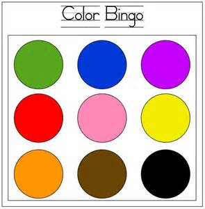 Toddler Learning Colors Activities