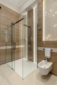 Modele Salle De Bain Avec Douche Italienne : la salle de bain avec douche italienne 53 photos ~ Premium-room.com Idées de Décoration