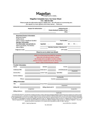 printable basic fax cover sheet forms  templates