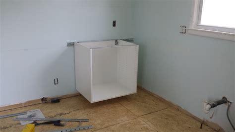 ikea cabinet installation 187 ikea sektion cabinet install day 1 kellbot