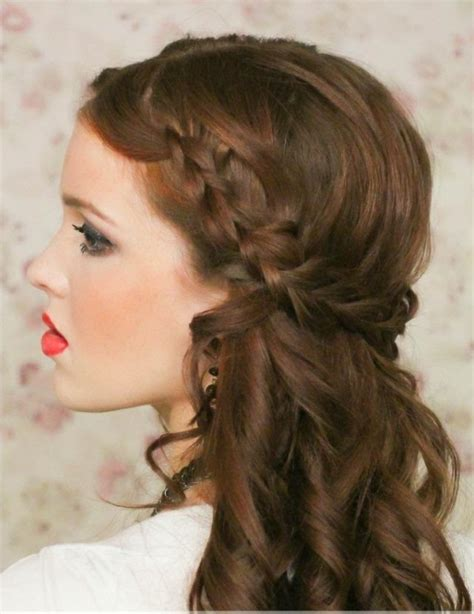 Coiffure Cheveux Long Tresse Facile