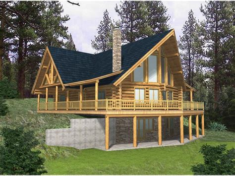 a frame house plans with basement rustic cabin plans for enjoying your weekends away from