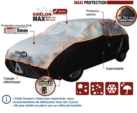 b 226 che protection voiture coverlux housse anti gr 234 le comptoirauto