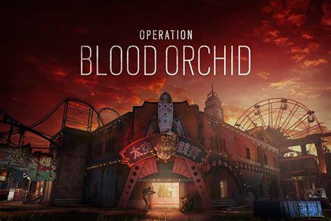Rainbow Six Siege S Theme Operation Blood Orchid Map Theme Park Rainbow
