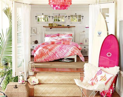 teenage girl bedroom ideas hawaiian hideaway pbteen