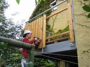 Holzplatten Für Balkon : holzverkleidung balkon gel nder f r au en ~ Frokenaadalensverden.com Haus und Dekorationen