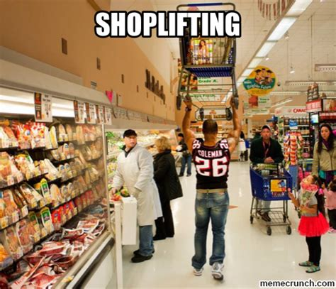 Shoplifting Meme - shoplifting