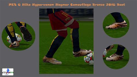 ultigamerz: PES 6 Nike Hypervenom Neymar Camouflage Bronze ...