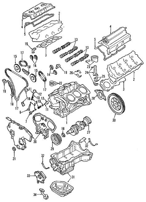 2005 Infiniti G35 Engine Diagram parts 174 infiniti engine bare partnumber 10102ac7m9