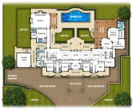 of images large house blueprints single storey split level home design quot the chateau