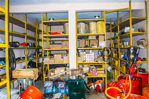 Parts Store by Equipment Profile Abbott Services Limited