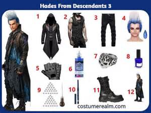 How To Dress Like Descendants Hades Costume Guide, Diy ...