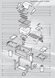 Weber Genesis Silver C Lp Swe Premium  2004  Parts