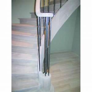 Escalier Fer Et Bois : escalier en ch ne balustrade en fer forg escalier ~ Dailycaller-alerts.com Idées de Décoration
