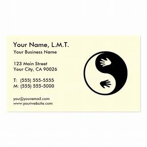Massage therapy business cards zazzle for Massage therapy business card