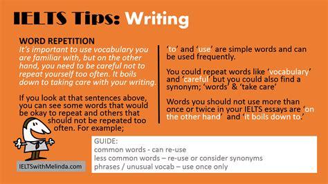 Writing Tips by Writing Tips Ieltswithmelinda