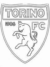Torino Calcio Colorare Football Disegni Fc Stemma Stampare Gratis Juventus Voetbal Kleurplaat Coloring Colorear Kleurplaten Desenhos Escudo Dibujos Kolorowanka Kolorowanki sketch template