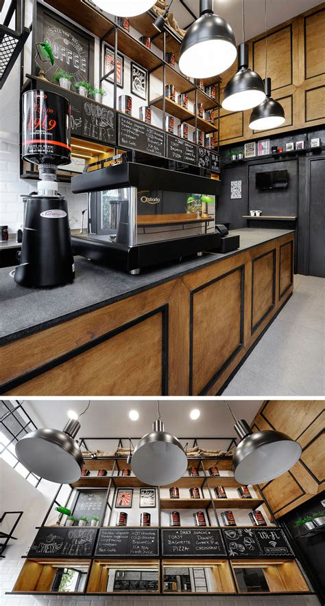 Labotory has designed a coffee shop in seoul that fuses contemporary minimalism with traditional components. Andreas Petropoulos Has Designed A Small Takeaway Coffee Bar In Greece
