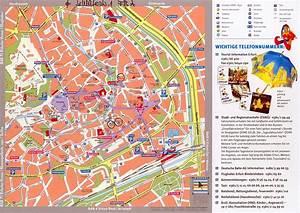 Bus München Erfurt : stadtplan von erfurt detaillierte gedruckte karten von erfurt deutschland der ~ Markanthonyermac.com Haus und Dekorationen