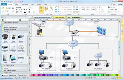 cctv project design cilia system