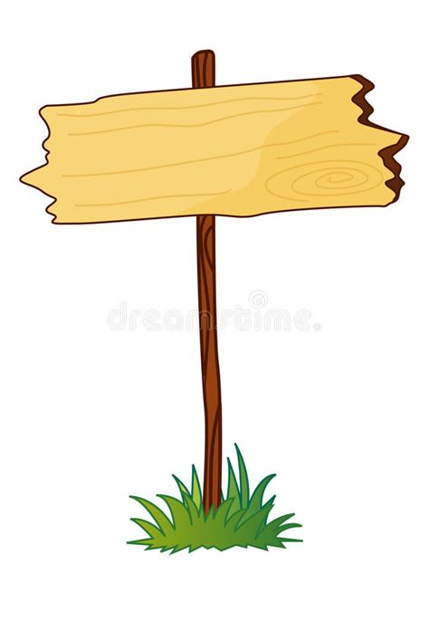 blank wooden sign royalty  stock image image