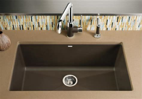 Blanco Precis Sink Cafe Brown by Blanco 440147 Precis Single Bowl Undermount