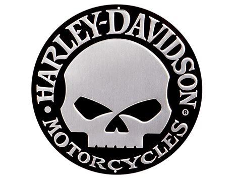 Harley Davidson Number 1 Skull Logo Background 1 Hd