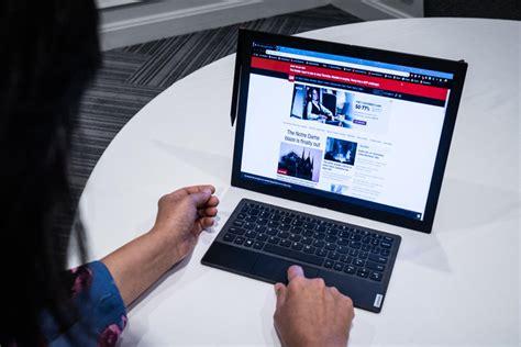 lenovo thinkpad  foldable tablet   pcworld
