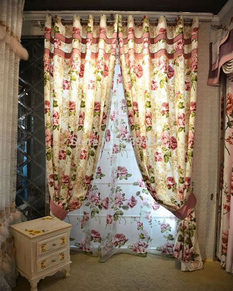 2015 new wholesale american country curtains curtain
