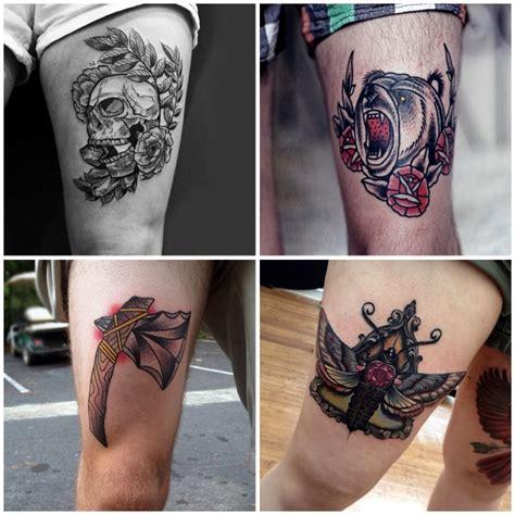 tattoos männer rücken ideen manner oberschenkel best design