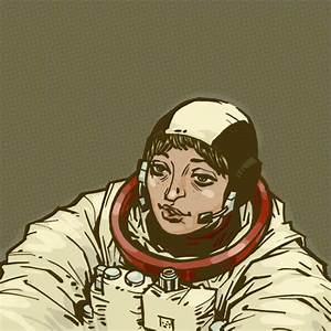 Female Astronauts Drawings - Pics about space