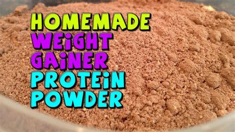 HOMEMADE Weight Gainer Protein Powder Recipe (CHEAP) - YouTube