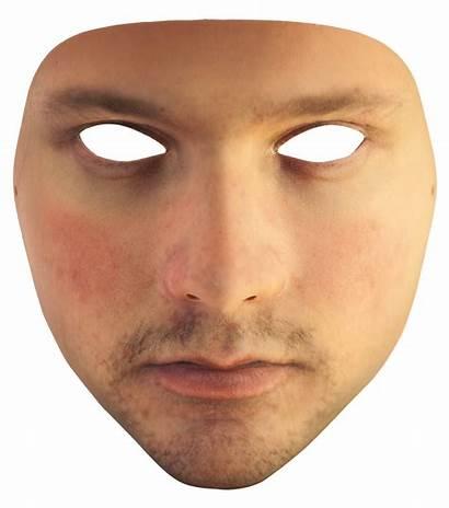 Face 3d Printed Urme Mask Transparent Background
