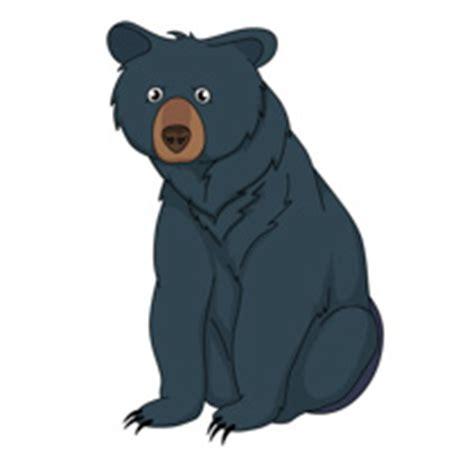 Black Bear Cartoon Clip Art