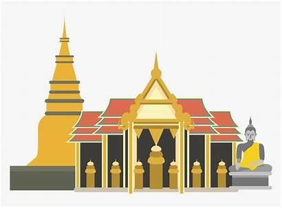 Temple Icon Thai Oranges Transparent Pngitem