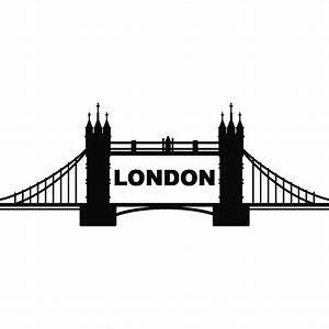 London Bridge Dessin : stickers muraux pays et villes sticker pont de londres 2 ambiance ~ Dode.kayakingforconservation.com Idées de Décoration