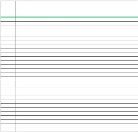 notebook paper template for word 15 notebook templates to create a custom notebook