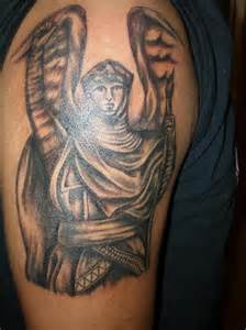 Archangel Gabriel Tattoo Designs