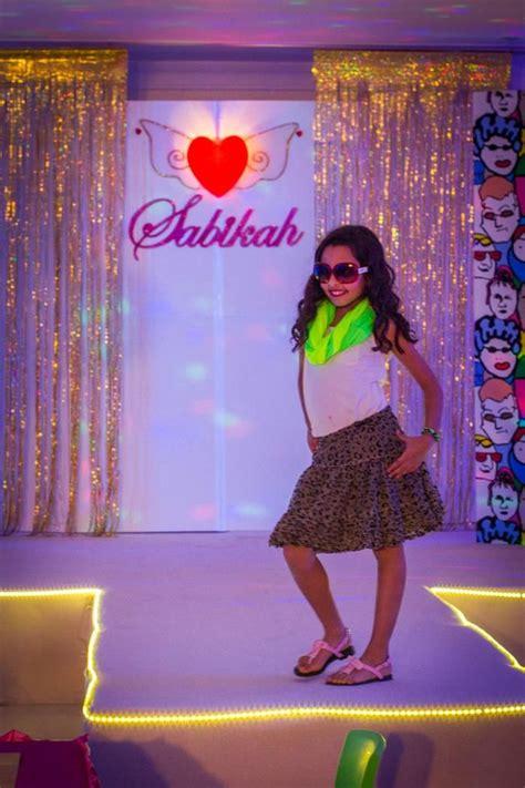 A Fashion Show Birthday Party {ideas, Supplies, Decor