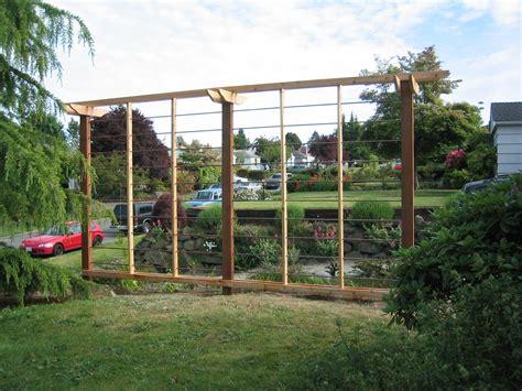 Garden Fence Trestle by Iron Trellis Design With Wooden Frames As Inspiring