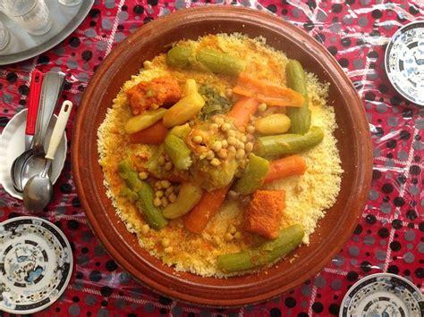 moroccans eat couscous  fridays