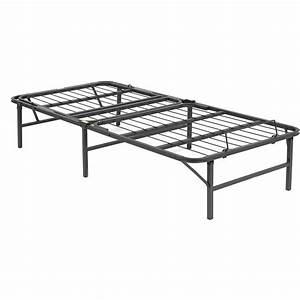 Metal Bed Frame Twin Xl Adjustable Head Wire Mesh Platform