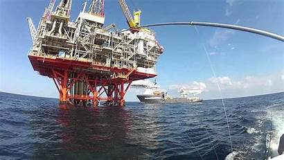 Fishing Offshore Oil Rigs