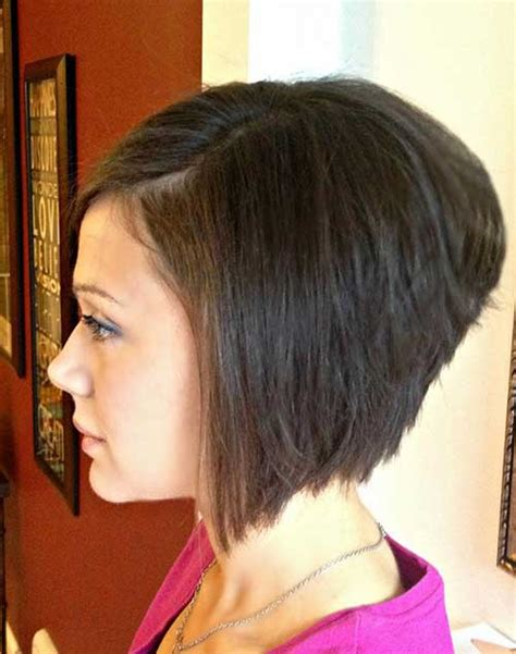 popular short stacked haircuts   love short