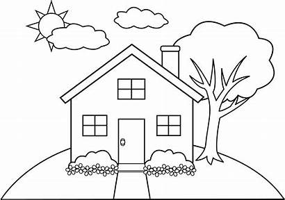 Clipart Hill Clip Line Drawing Simple Transparent