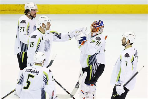 Dreary NHL All-Star game an avalanche of scoring as ...