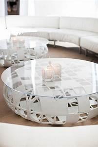 Table Ronde De Salon : table basse ronde de salon id es de d coration int rieure french decor ~ Teatrodelosmanantiales.com Idées de Décoration